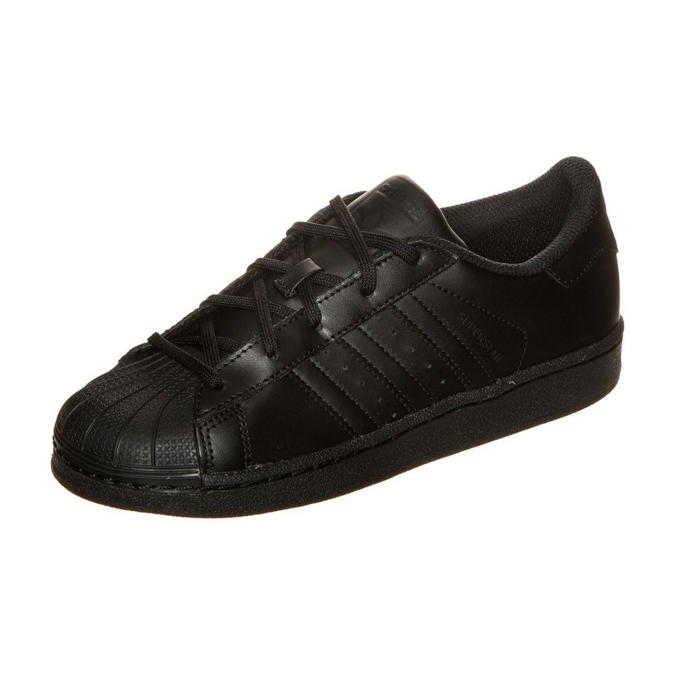 adidas Originals Superstar Foundation Sneaker Kinder in schwarz