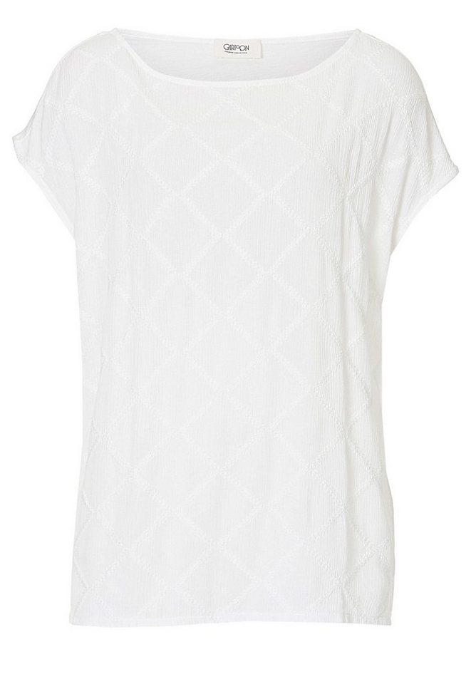 Cartoon Shirt in Rohweiß - Weiß