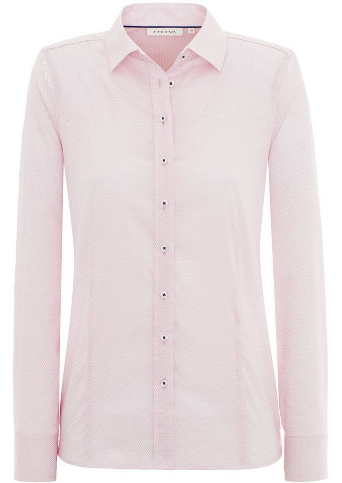 ETERNA 1/1-Arm Bluse »COMFORT FIT« in rosa