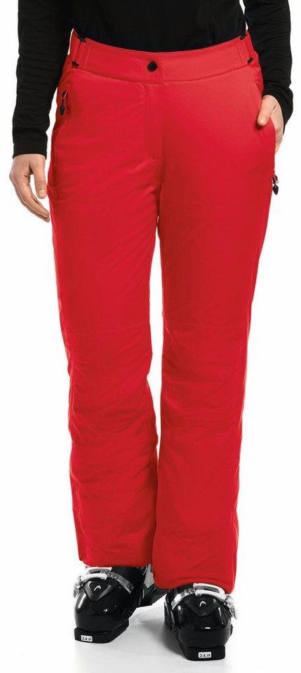 Maier Sports Outdoorhose »Resi 2 Ski Hose Damen« in rot