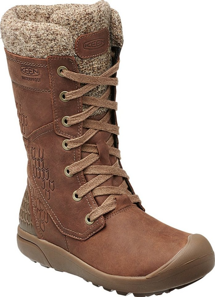 Keen Winterstiefel »Fremont Lace Tall WP Boots Women« in braun
