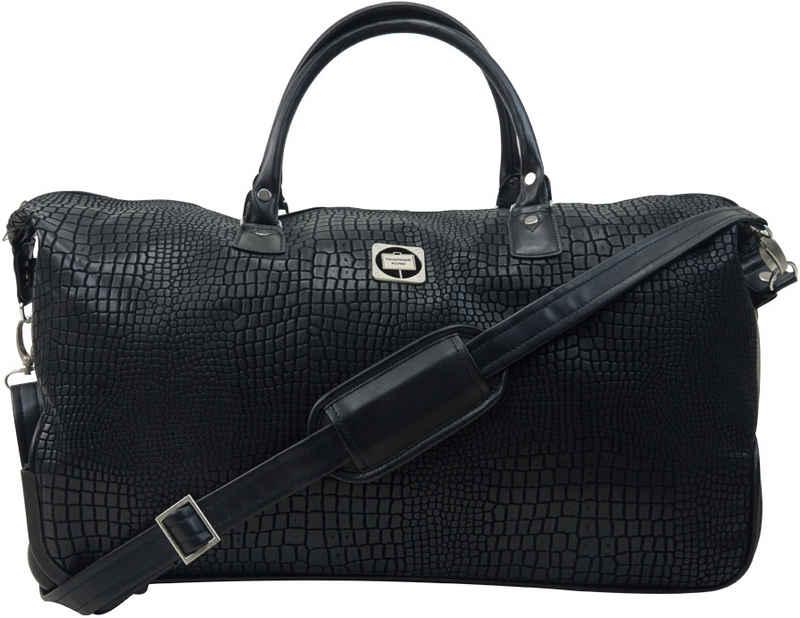 Hauptstadtkoffer Reisetasche »Tiergarten, 56 cm, schwarz«, mit 2 Rollen