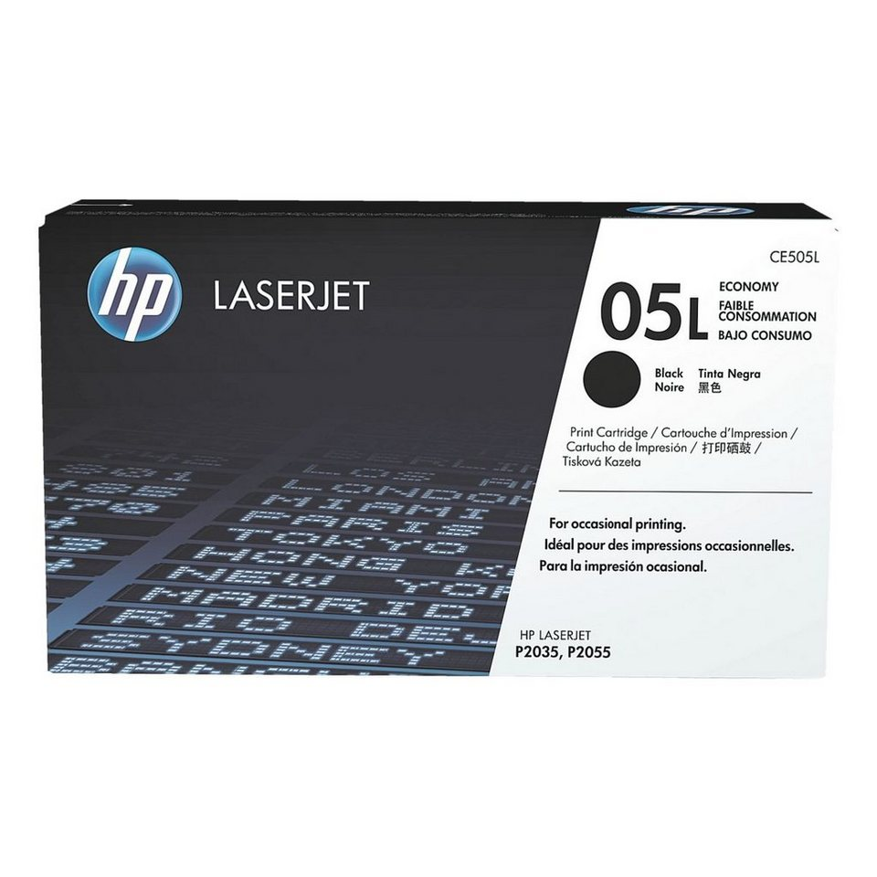 HP Druckkassette »HP CE505L« HP 05L