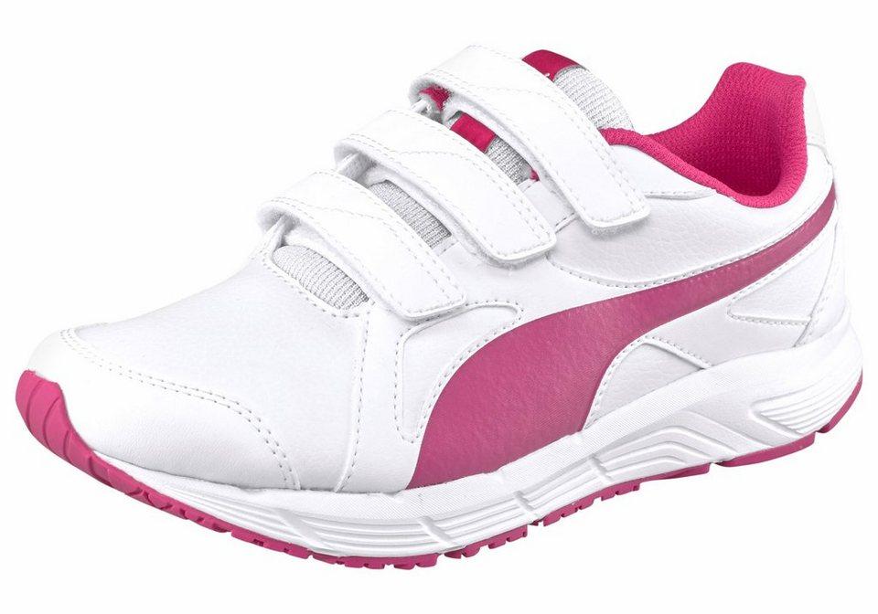 PUMA Sneaker in weiß-pink
