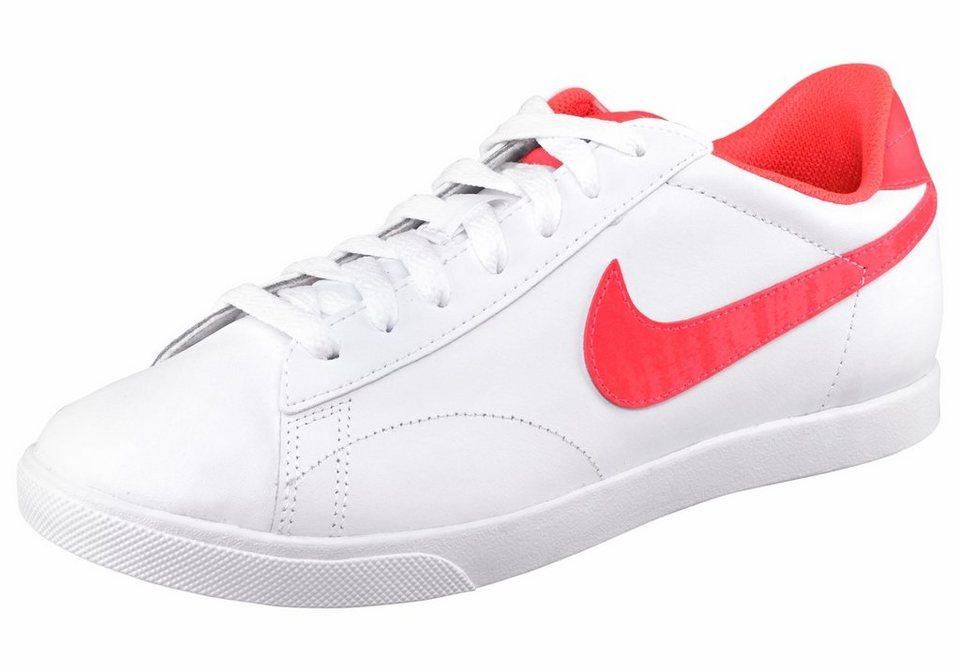 Nike »Racquette LTR« Sneaker in weiß-neonorange
