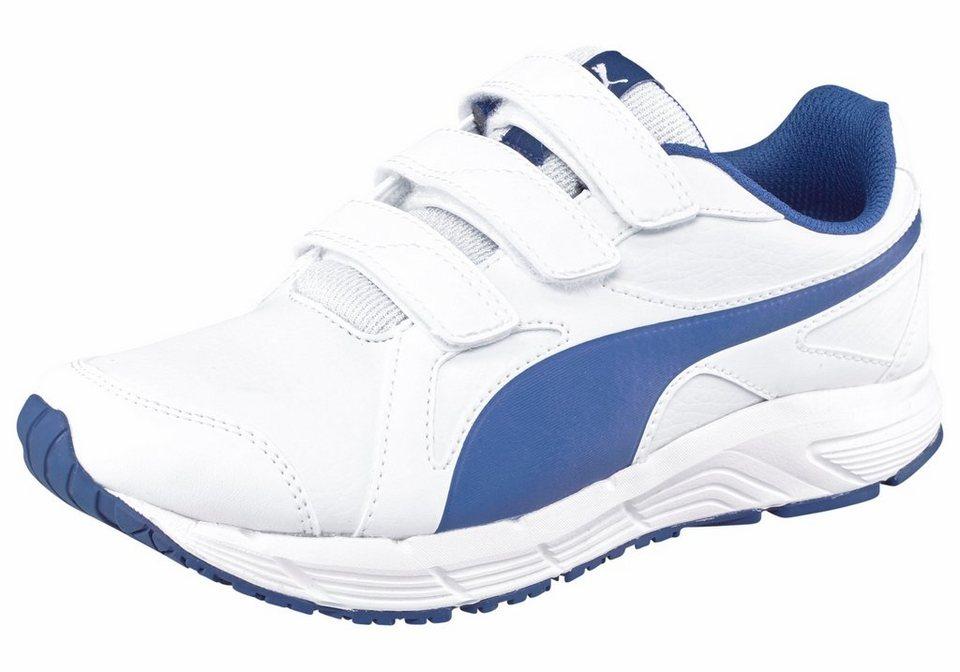 PUMA Sneaker in weiß-blau