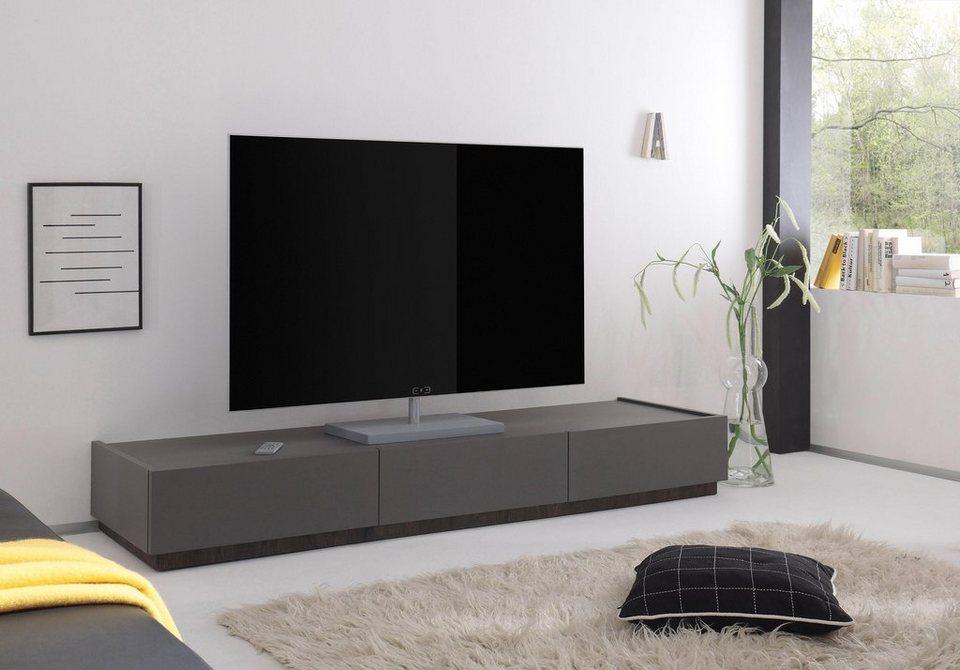 Places Of Style Tv Board Zela Mit 3 Schubladen Breite 184 Cm