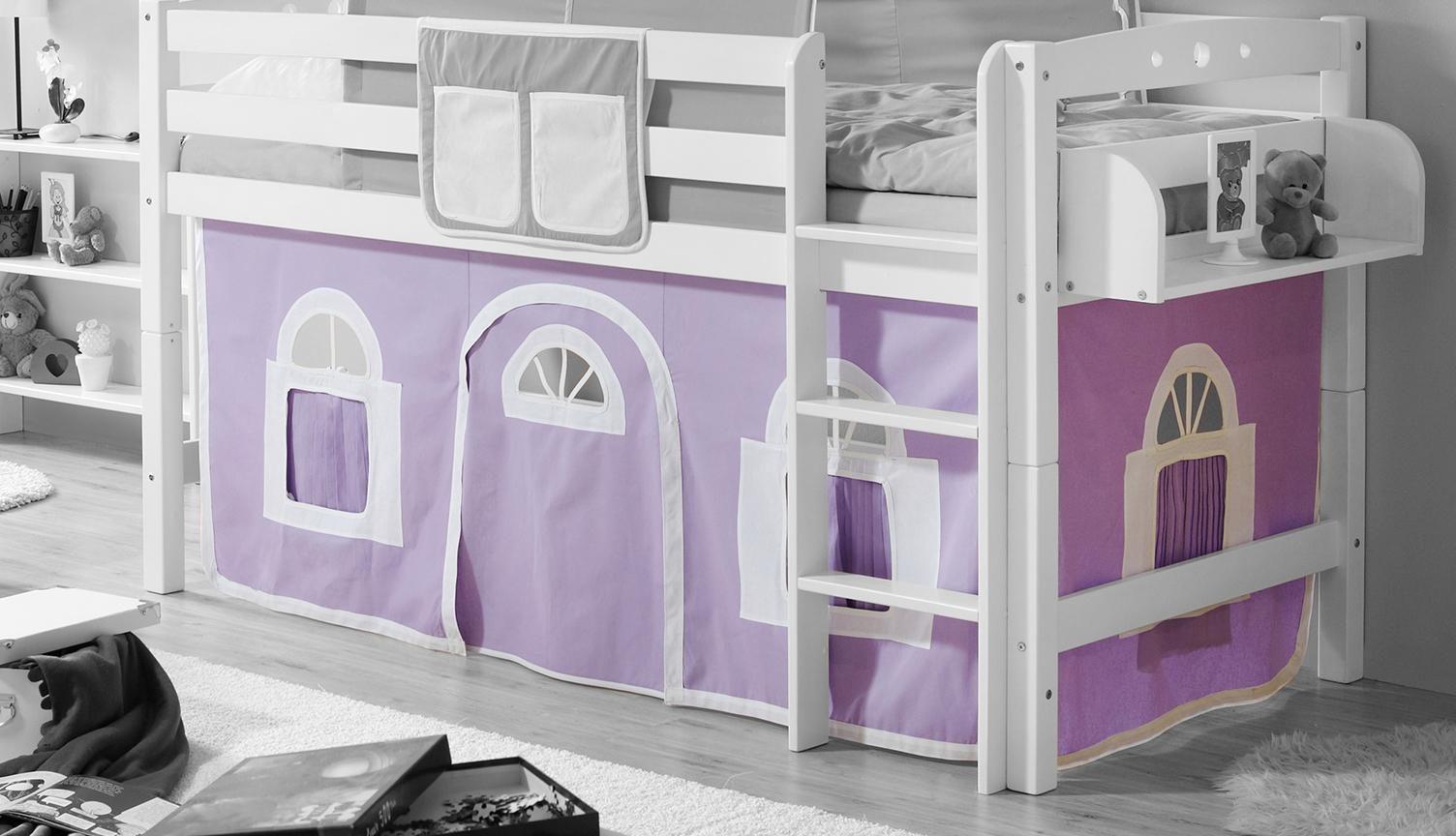 Ticaa Etagenbett Vorhang : Ticaa kinder hochbett zubehör set teilig amazon küche