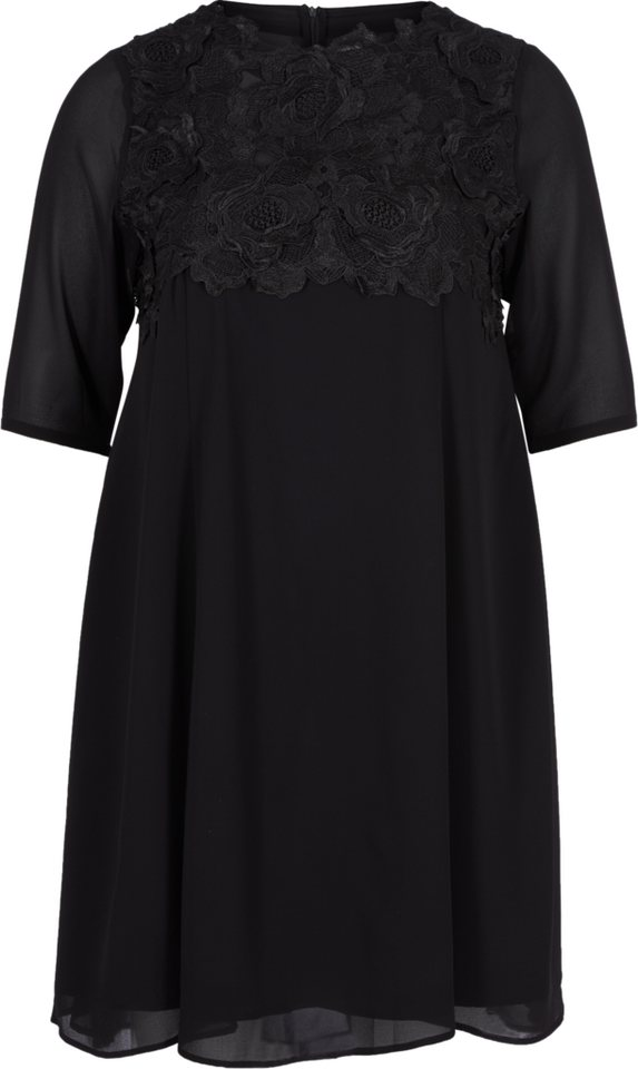 Zizzi Kleid in Black