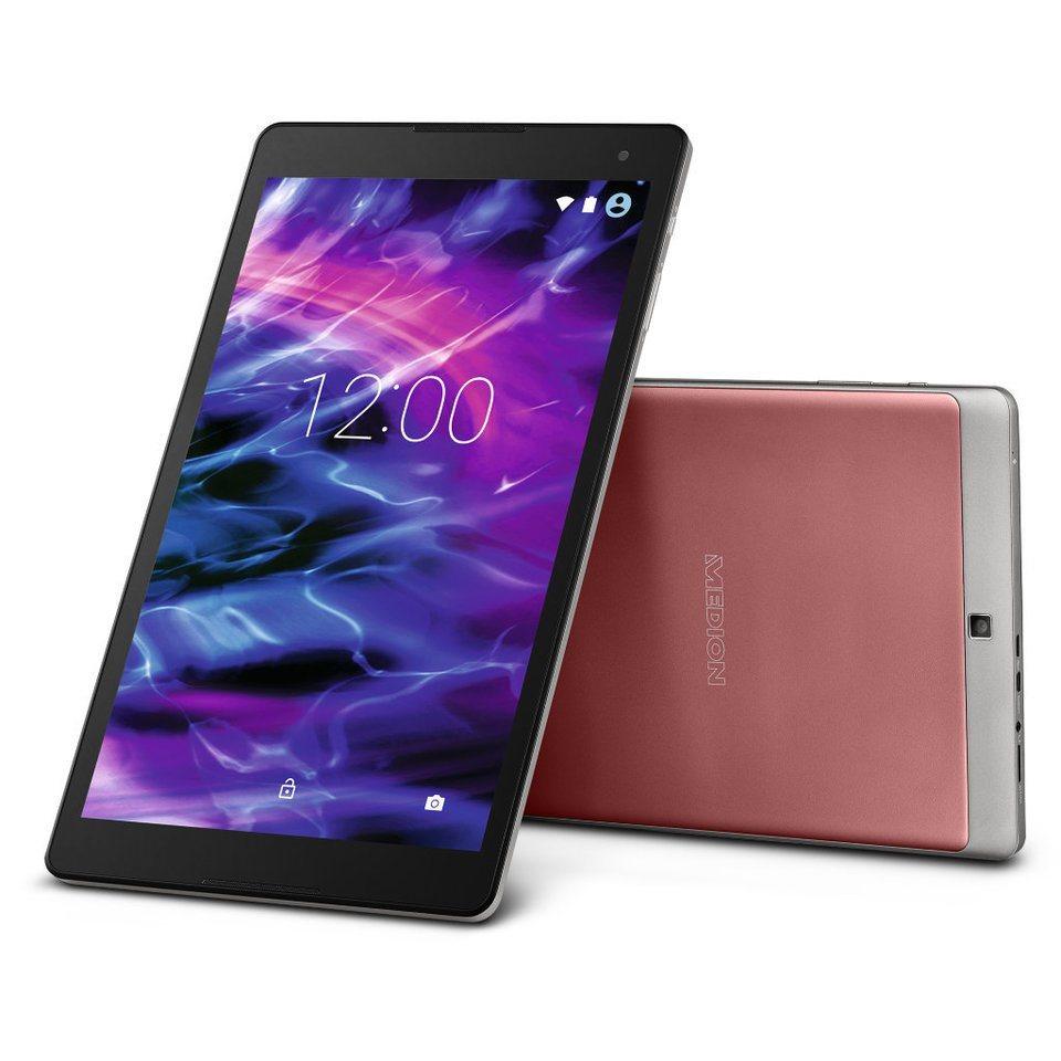 "MEDION® 25,7 cm (10,1"") Full HD Tablet mit 2 GB RAM »LIFETAB® mit 32 GB Speicher« in marsala"