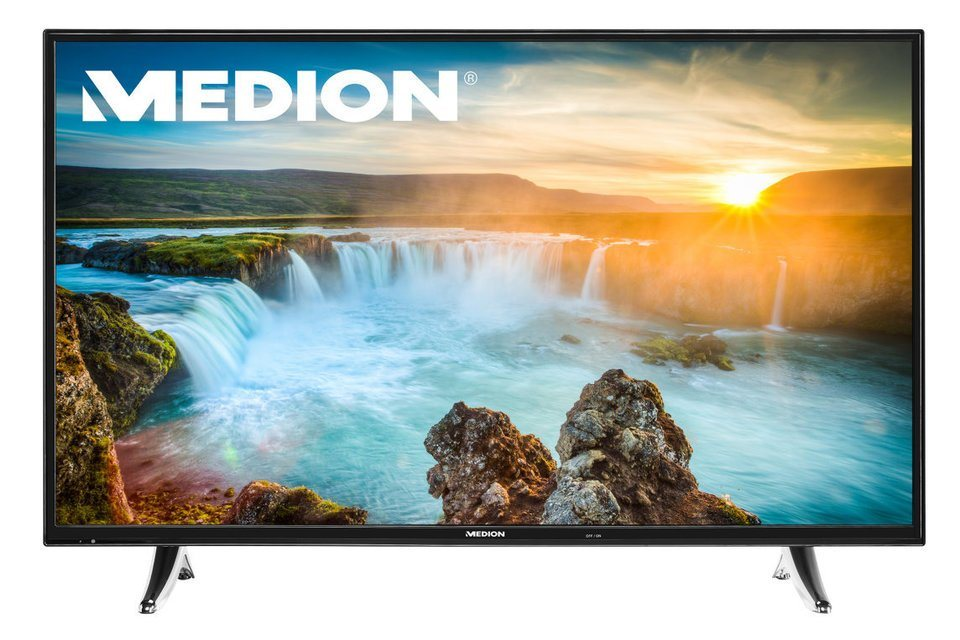 "MEDION® 138,8 cm (55"") Smart-TV LIFE® X18062 (MD 31111) »Full-HD, Triple Tuner mit DVB-T2 HD« in schwarz"