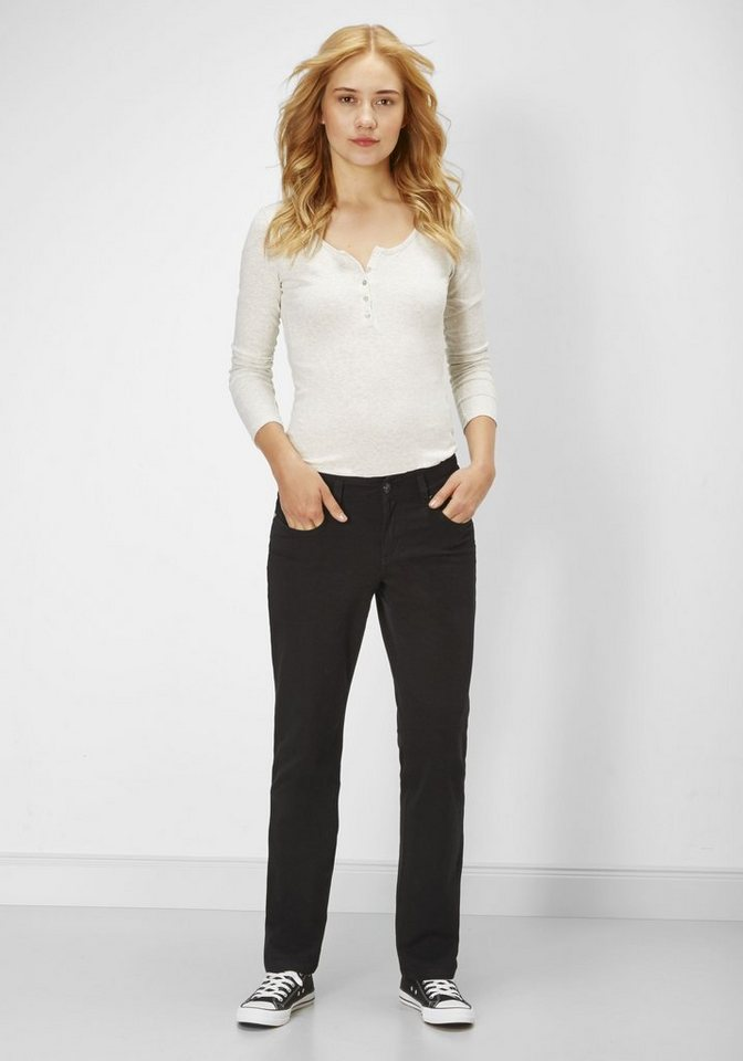 PADDOCK'S Stretch Jeans »TRACY« in black