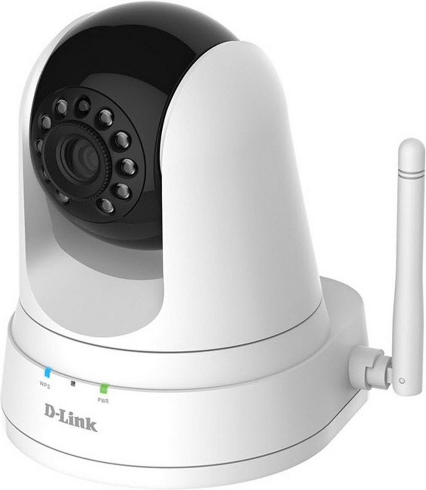 D-Link Ip-Kamera »DCS-5000L/E Wireless N Tag&Nacht Pan&Tilt Camera« in Weiß