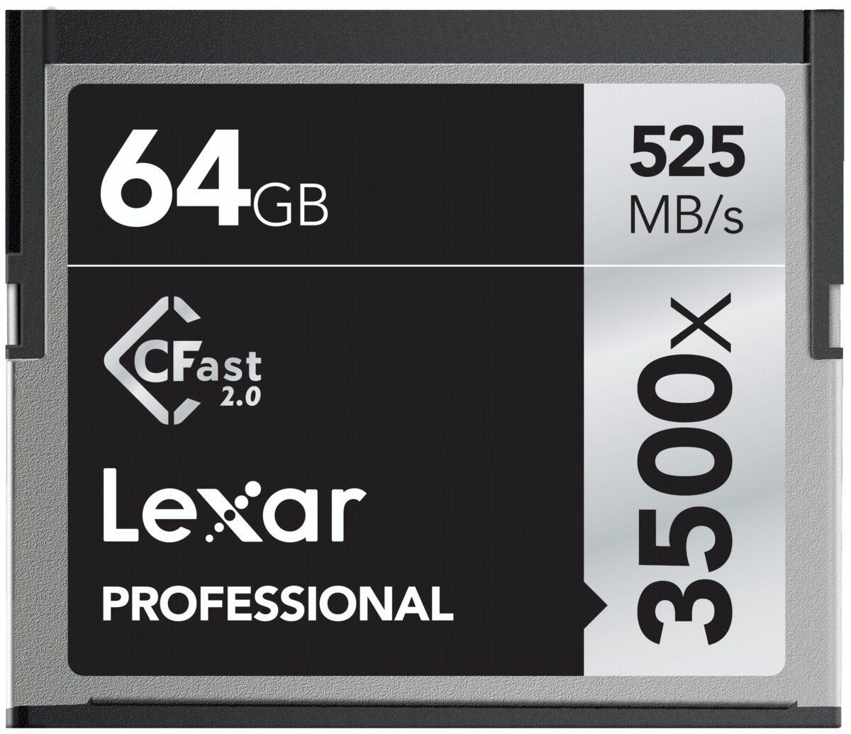 Lexar Speicherkarten »CFast 2.0 64GB 3500x Professional«