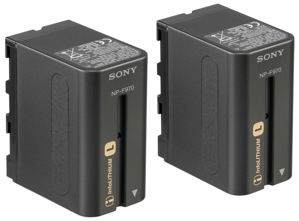 Sony Energie »2NP-F970/B NP F970 Battery Pack (2 Stück)« in schwarz