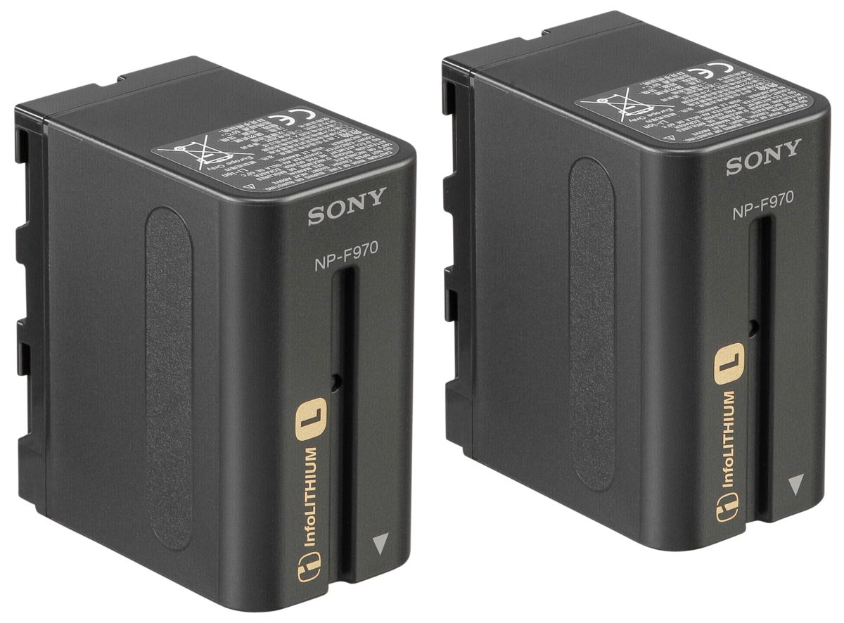 Sony Energie »2NP-F970/B NP F970 Battery Pack (2 Stück)«