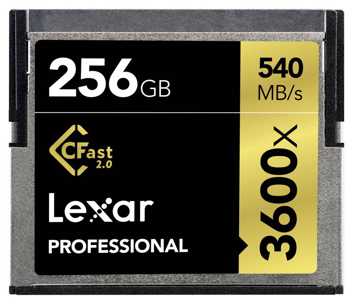 Lexar Speicherkarten »CFast 2.0 256GB 3600x Professional«