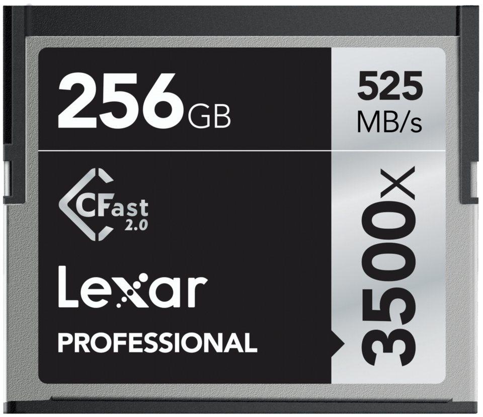 Lexar Speicherkarten »CFast 2.0 256GB 3500x Professional«