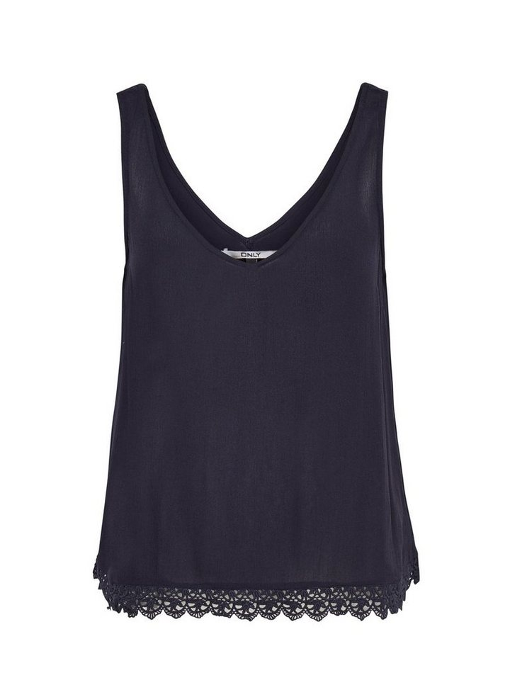 Only Detailliertes Tank Top in Night Sky