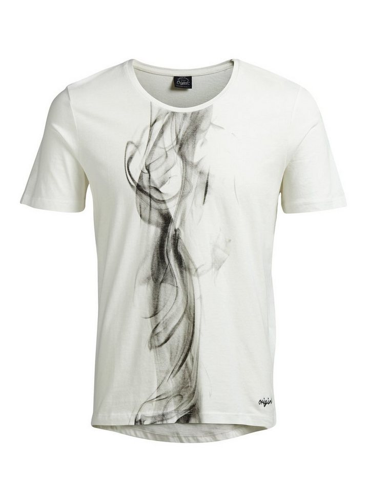 Jack & Jones Artwork- T-Shirt in Cloud Dancer