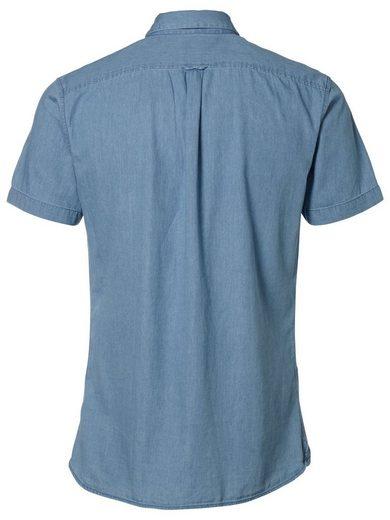 Selected Slim-Fit- Kurzarmhemd
