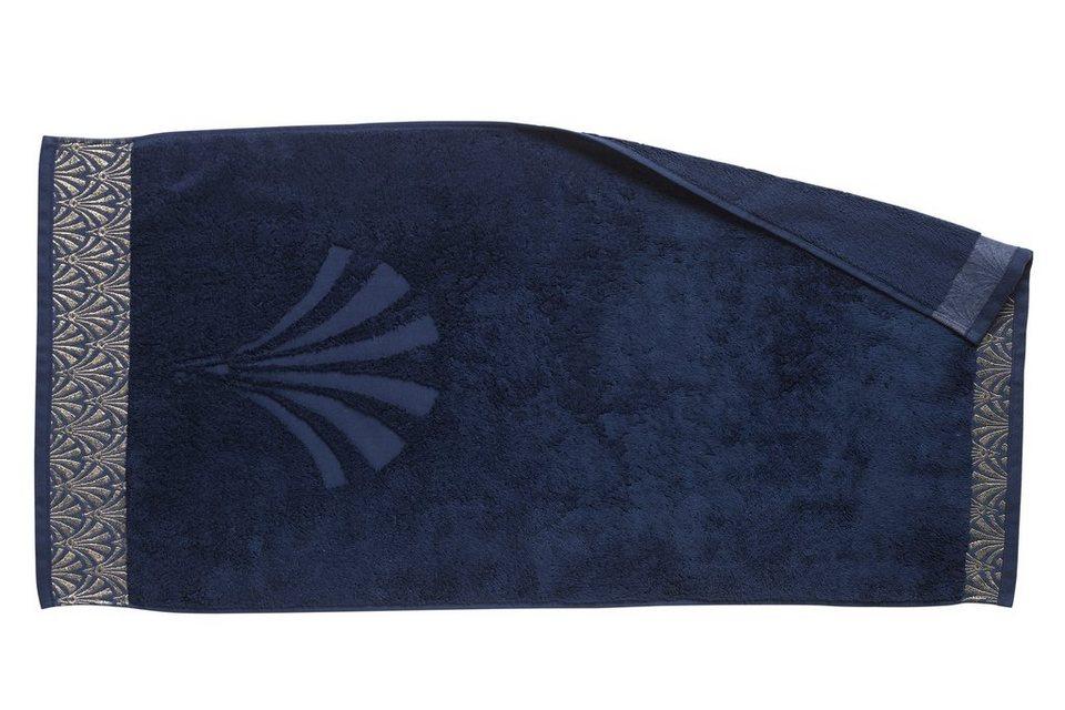 Frottiertuch in blau