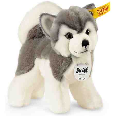 Steiff Plüschtier Hund, »Berny Husky, 17 cm«