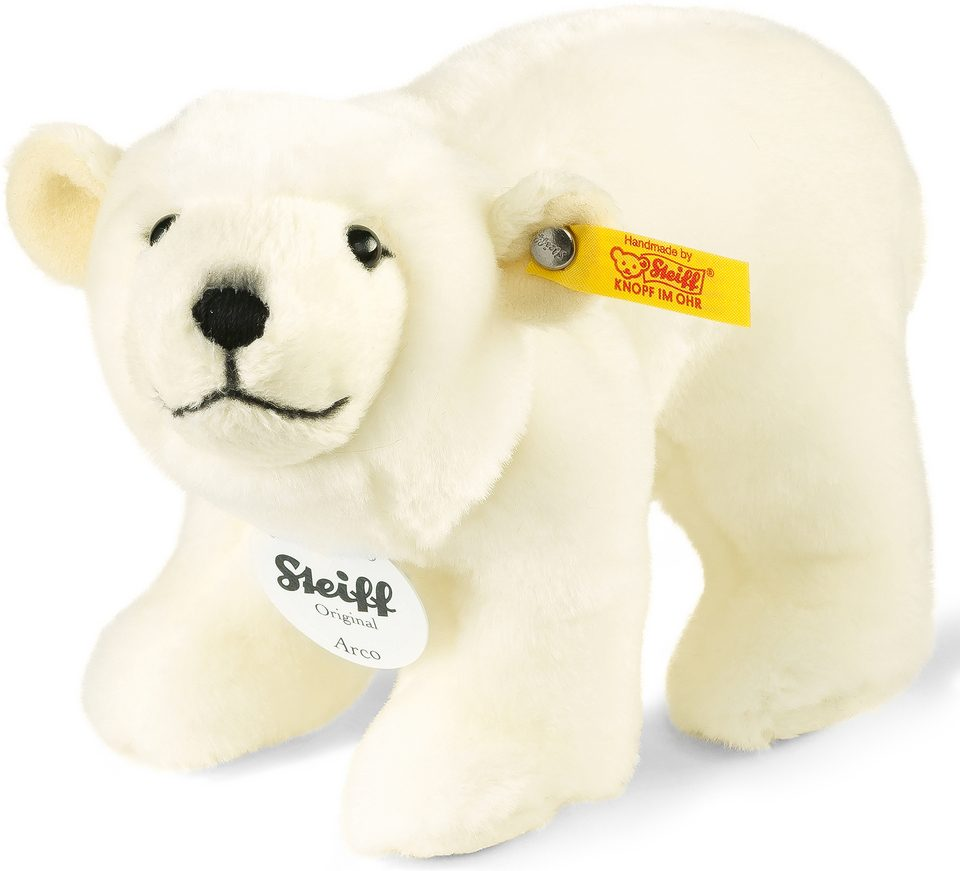 Steiff Plüschtier, »Arco Eisbär stehend, 18 cm«