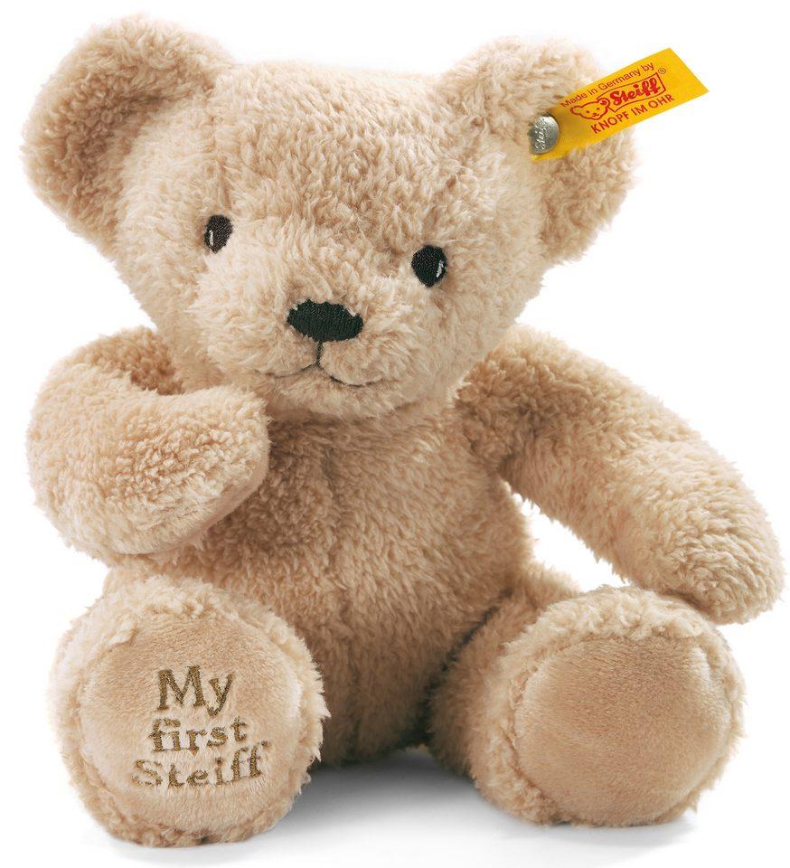 Steiff Plüschtier, »Teddy My First beige sitzend, 24 cm«