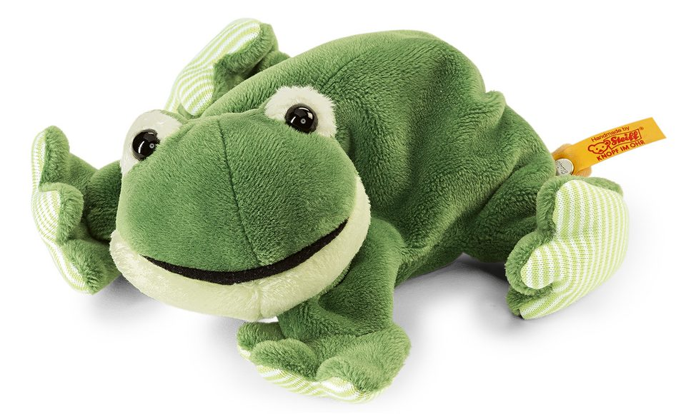 Steiff Plüschtier Frosch, »Cappy liegend, 16 cm«
