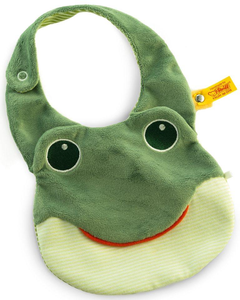 Steiff Babylätzchen im Froschdesign, »Fabio«