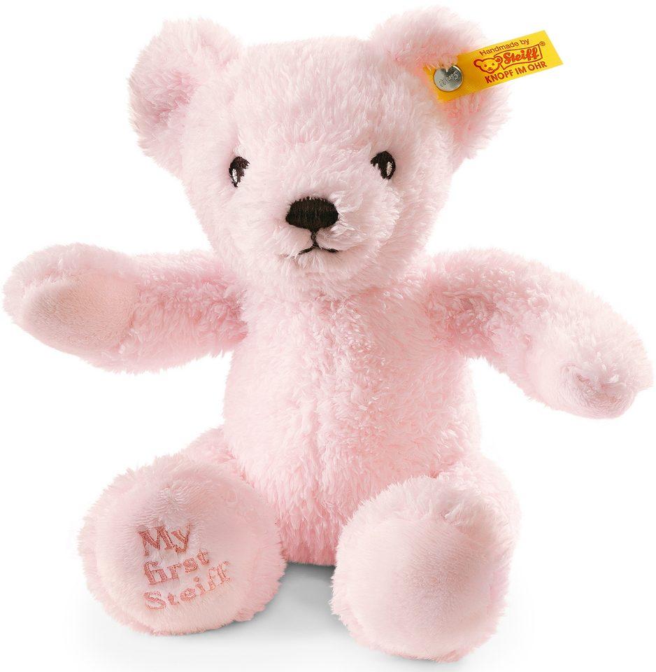 Steiff Plüschtier, »Teddy My First rosa sitzend, 24cm«