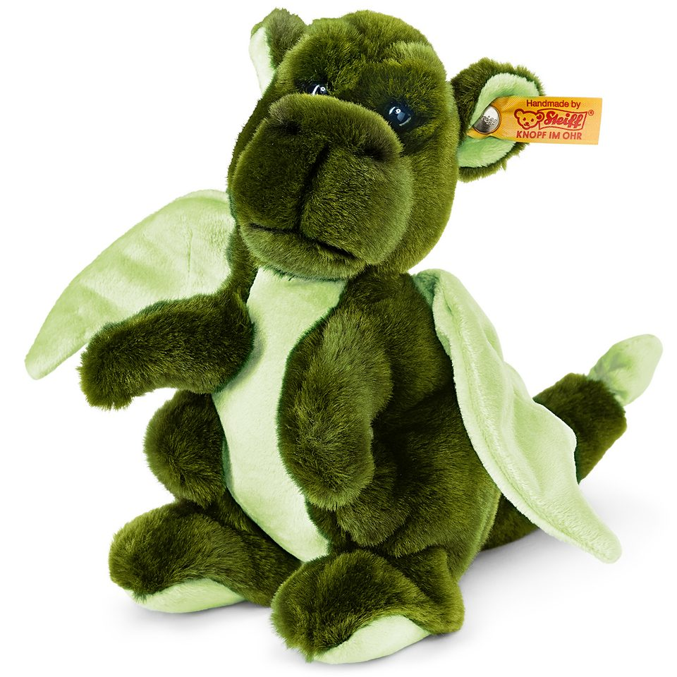 Steiff Plüschtier, »Kian Baby Drache grün, 20 cm«