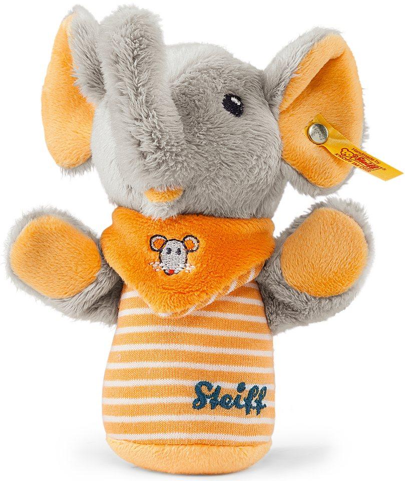 Steiff Kuscheltier Knister Greifling, »Trampili Elefant, 14 cm«