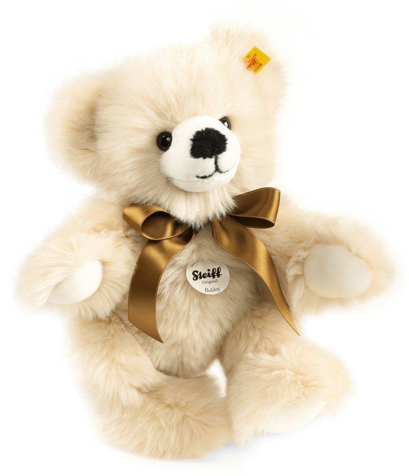 Steiff Plüschtier Teddy, »Bobby creme, 30 cm«