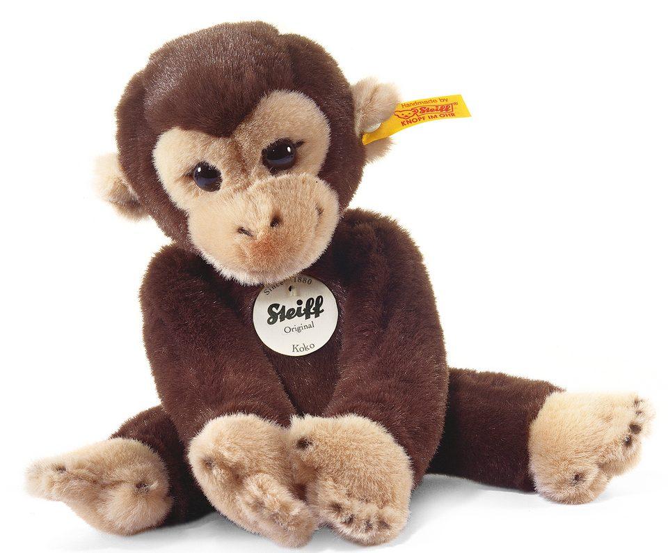 Steiff Plüschtier, »Koko Affe braun, 25 cm«