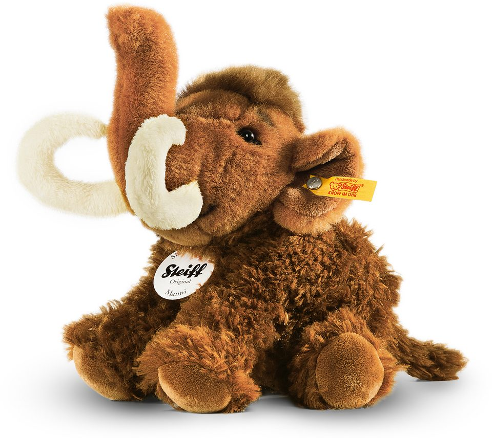 Steiff Plüschtier, »Manni Mammut, 18 cm«