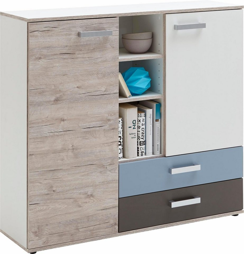 fmd kommode nona 4 breite 117 cm online kaufen otto. Black Bedroom Furniture Sets. Home Design Ideas