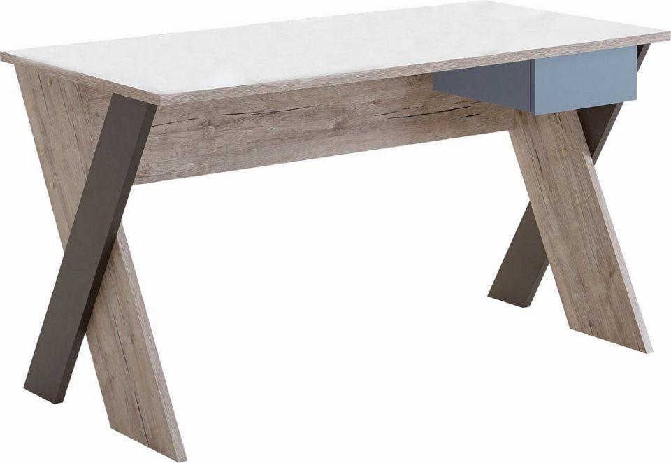 Schreibtisch »Nona 6« in sandeichefb./bunt