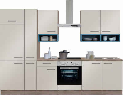 Wiesengrund Angebote OPTIFIT Küchenzeile mit E-Geräten,»Korfu« Breite 300 cm