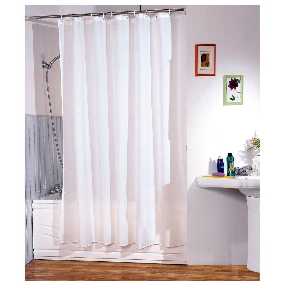 Duschvorhang »Weiß« in weiß