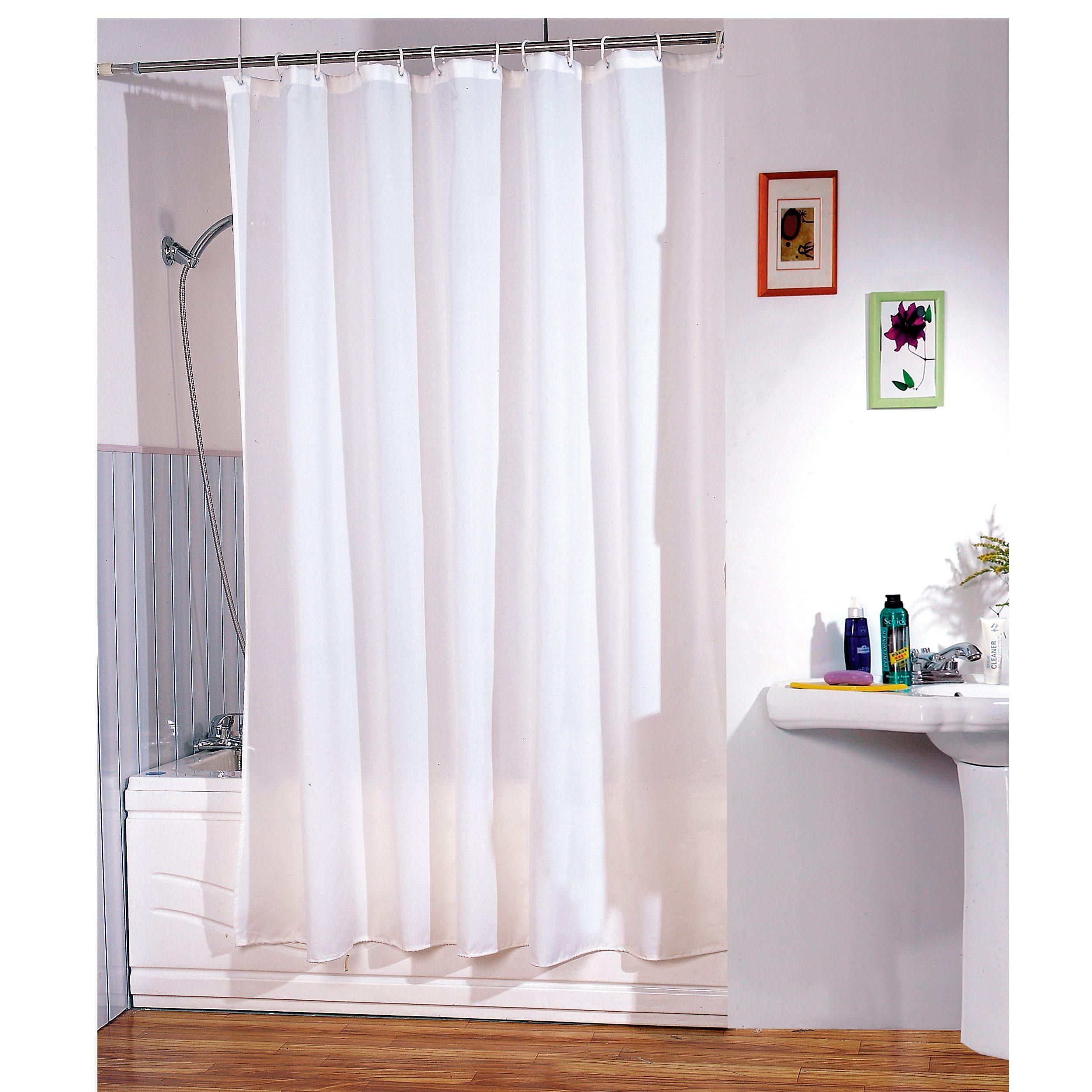 Duschvorhang »Weiß«