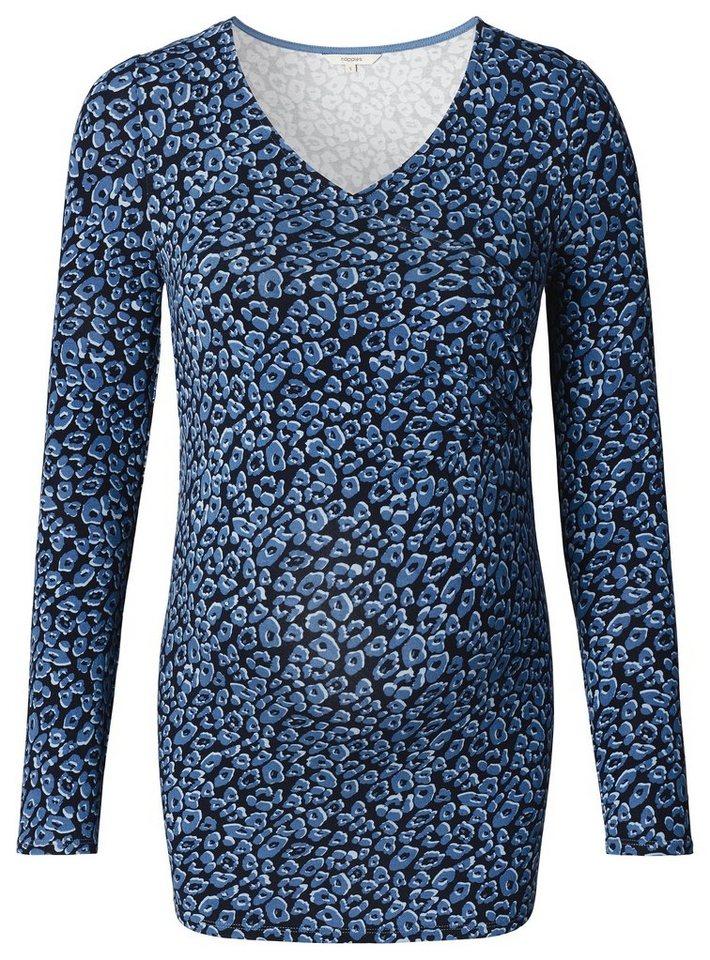 NOPPIES Still-Shirt »Sophie« in Dark Blue