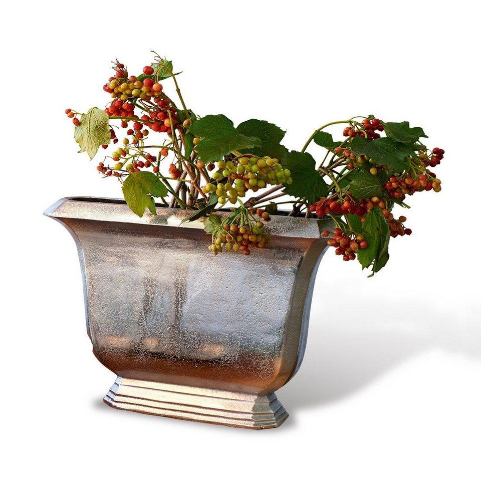 Loberon Vase »Dakota« in silber