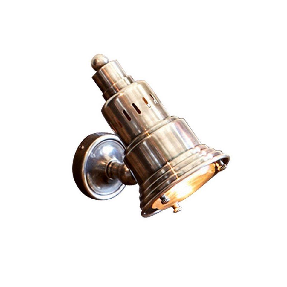 Loberon Wandlampe »Tilo« in antiksilber