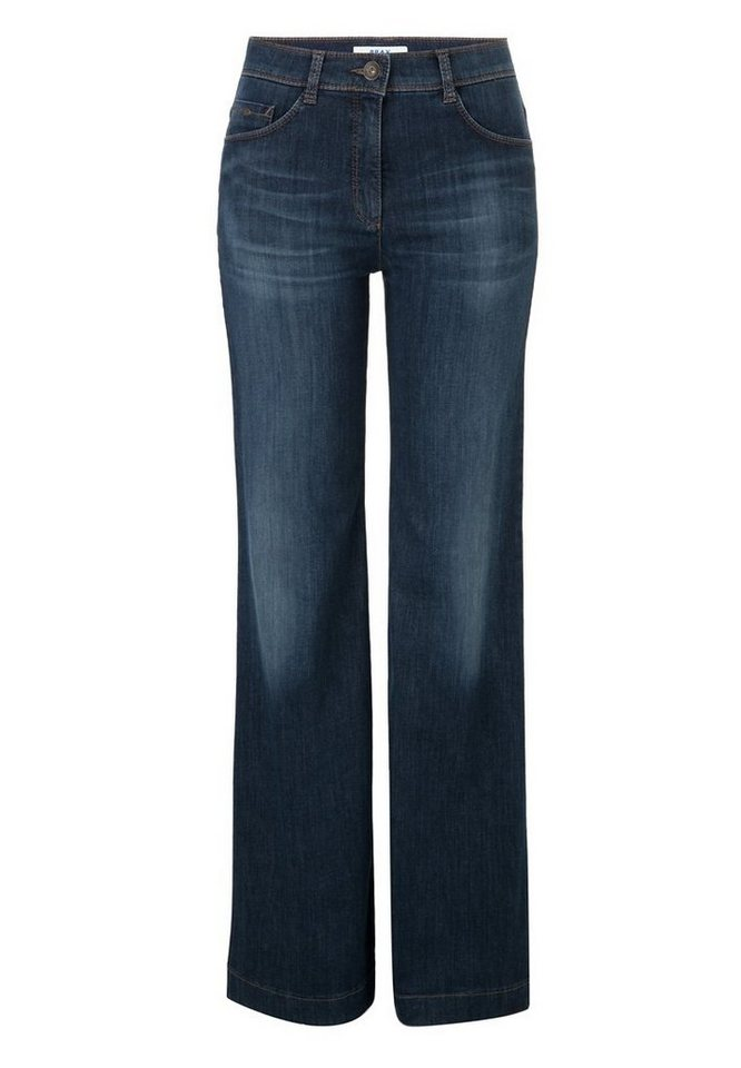 BRAX Jeans »MILA FLARED« in DEEP OCEAN