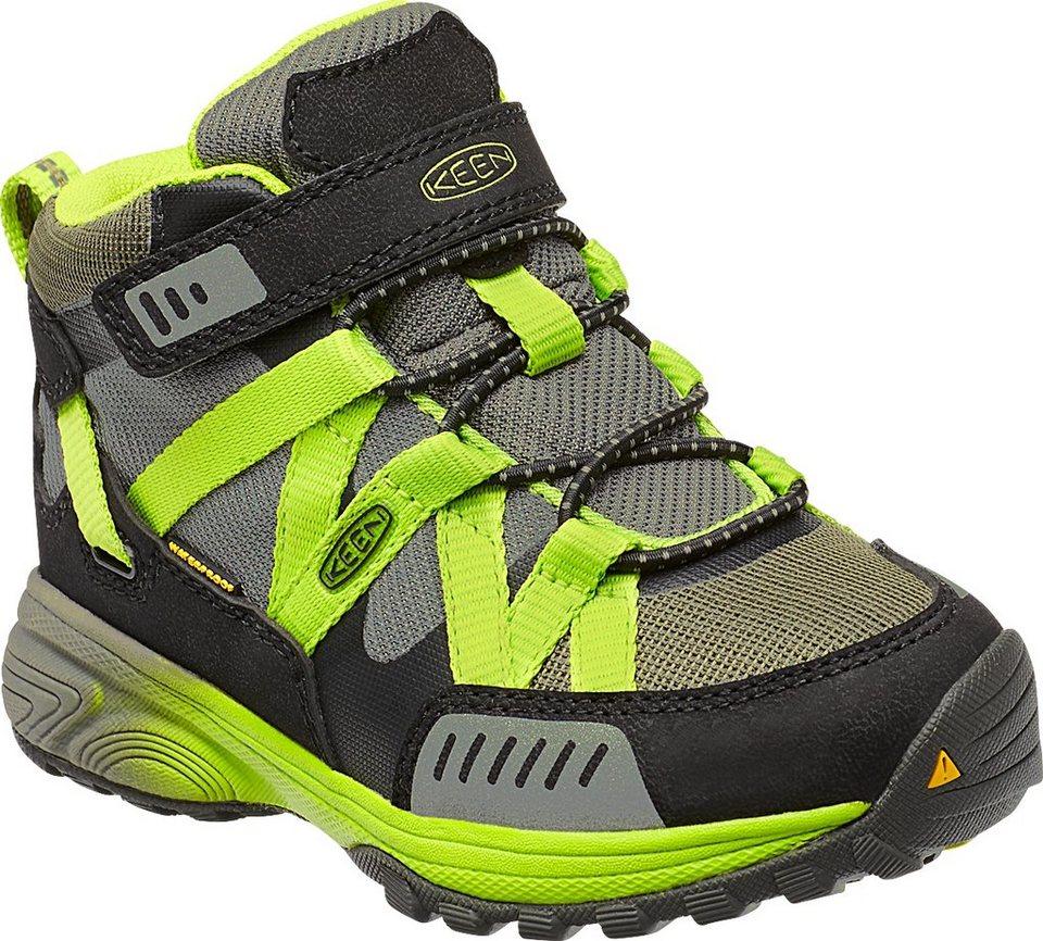 Keen Halbschuhe »Versatrail Mid WP Shoes Kids« in oliv