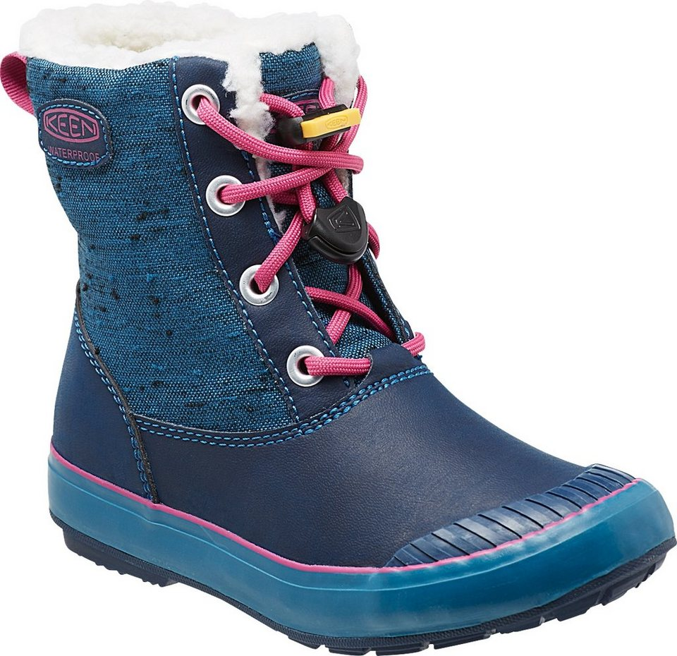 Keen Stiefel »Elsa WP Boots Youth« in blau
