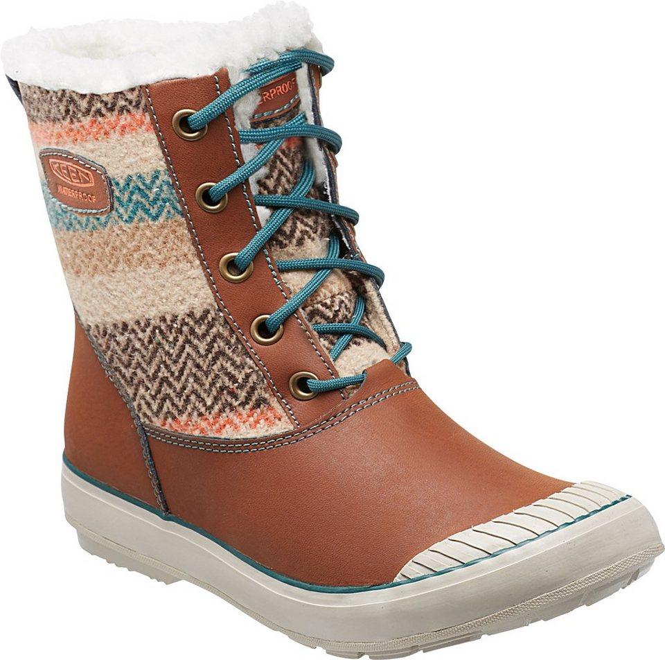 Keen Winterstiefel »Elsa WP Boots Women« in braun