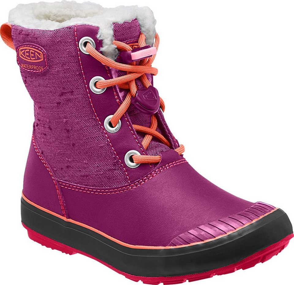 Keen Stiefel »Elsa WP Boots Kids« in pink